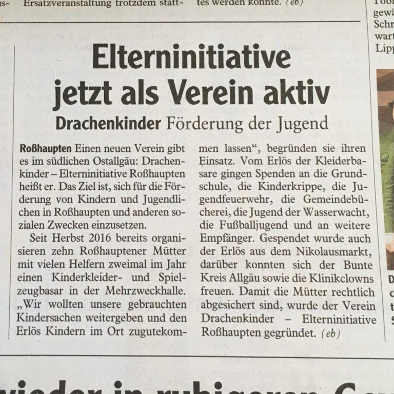 Allgäuer Zeitung März 2019